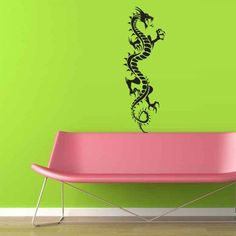 Wall Vinyl Decal Sticker Bedroom Decal Wall Decal Dragon z306