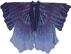 Sylvia Cosh moth coat