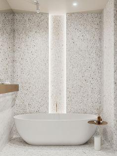 Contemporary Bathrooms, Contemporary Interior, Modern Interior Design, Restroom Design, Bathroom Interior Design, Open Bathroom, Master Bathroom, Parisian Kitchen, Suite Principal