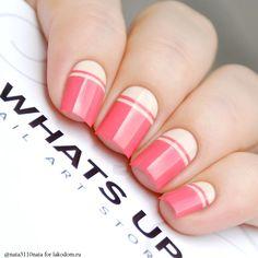 Наклейки-трафареты Whats Up Nails Тонкая прямая полоска - купить с доставкой по Москве, CПб и всей России.