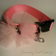Check out this item in my Etsy shop https://www.etsy.com/listing/237219697/pet-collar-pink-frilly-large-collar