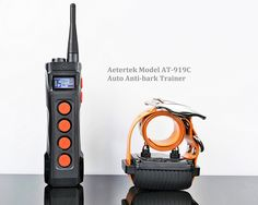 AETERTEK® 1100 Yard Remote Two Dog Training Collar Obedience Trainer with Belt-clip and Flashlight:Rechargeable Waterproof Collar w/ Safe and Humane Correctional Tone, Vibration, and 10 Levels of Adjustable Static Stimulation, Auto Anti Bark (Two Dog Set) >>> Check out the image by visiting the link. (This is an affiliate link) #DogTrainingAids