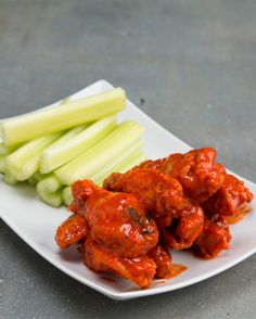 Healthier Spin On Chicken Wings
