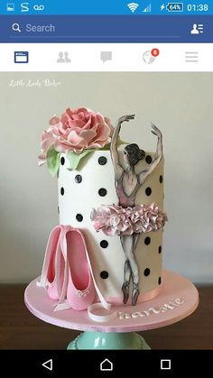 Ballerina Isabel Cake