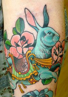 Seth Wood bunny dude is an amazing artist.