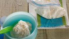 Ice Cream in a bag! Everyone should do this with their kids!  Easy and yummy!