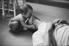 Papa e hijo.