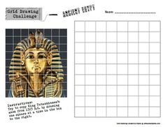 Printables Art History Worksheets grid drawing challenge art history worksheets set of five handouts teacherspayteachers