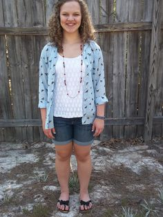 Easy Memorial Day Outfit + Patriotic Pretties via mybowsandclothes.blogspot.com #memorial #day #patriotic #outfit #shopping