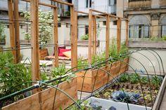 Realizzazione terrazzi e giardini pensili | terrazzo | Pinterest ...