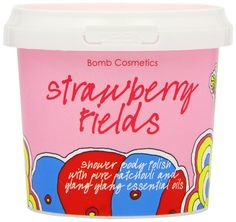 Bomb Cosmetics Körperpeeling STRAWBERRY FIELDS BODY POLISH: Amazon.de: Parfümerie & Kosmetik