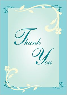 Thank You Cards   Thanksgiving Cards: Thank You Cards, Free Thank You Greetings