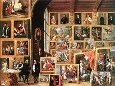 12 Paintings of art galleries at: http://www.arteeblog.com/2015/04/12-pinturas-de-galerias-de-arte.html