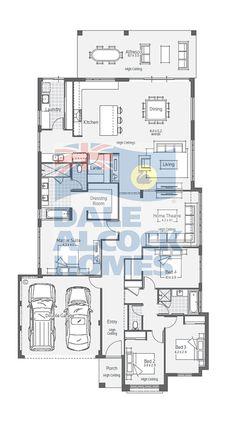 Glenwood I | Dale Alcock Homes Like this minor bedroom/bathroom layout