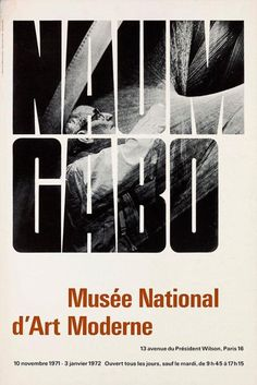 Naum Gabo - Musée National d'Art Moderne – Objekte – Bruno Pfäffli – Biografien – eMuseum