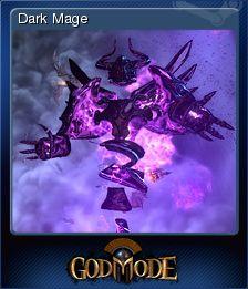 Cromo de Steam «Dark Mage» de God Mode