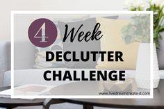 4 WEEK DECLUTTER CHALLENGE