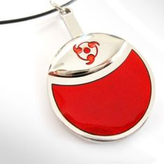 Naruto Uchiha Family Logo Necklace