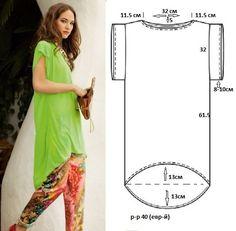 T-shirt dress pattern Sewing Patterns Free, Free Sewing, Clothing Patterns, Dress Patterns, Diy Clothing, Sewing Clothes, Sewing Hacks, Sewing Tutorials, Shirt Dress Pattern