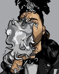 The Weeknd trill art