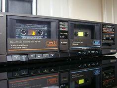 TECHNICS RS-T10 TWIN DOUBLE Tape Cassette Deck Player   eBay