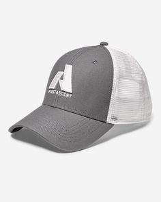 Graphic Hat - First Ascent  With its six-panel construction f19b3d10107