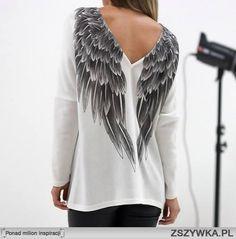 bluza ze skrzydłami na plecach - Szukaj w Google