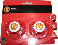 Manchester United Baby Soothers Pacifiers Dummies