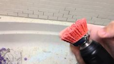 How To Remove Dried Grout Or Mortar From Tile Diy Scrub Brush