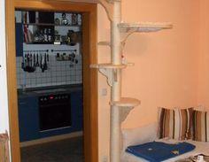 ber ideen zu kratzbaum holz auf pinterest. Black Bedroom Furniture Sets. Home Design Ideas