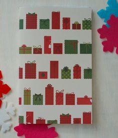 Christmas Journal , Christmas Planner, Bullet journal, Midori Insert, Holiday Journal by HotWheelsandGlueGuns