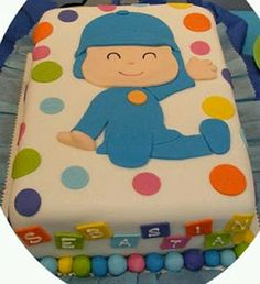 Pocoyo Cakes for Children Parties