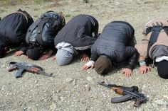 #Syria #revolution #Free Syrian Army in Prayer