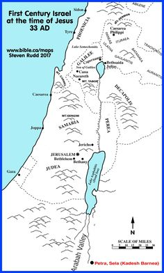 Map Of Canaan In Old Testament Times Art Bible Mapping Bible
