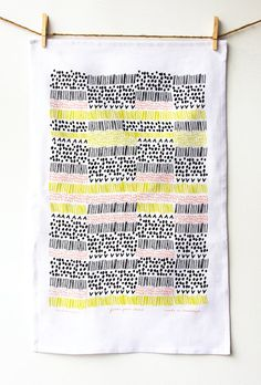 Fields From Above Tea Towel by leahduncan on Etsy, $24.00