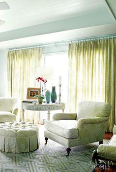 Designer John Oetgen in Atlanta Homes & Lifestyles.