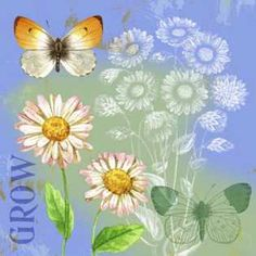 Butterflies Inspire III by  Jane Maday
