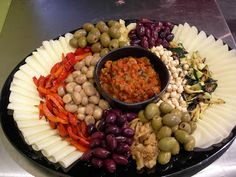 Our Vegetarian Antipasto Platter. Pairs perfectly with breads and crispy flatbread.