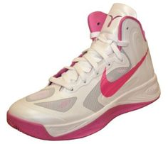 c1442c827f2 NIKE Women s Hyperfuse TB Breast Cancer Basketball Shoes-White Pink-9.5 Nike .