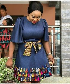 Collection of the most beautiful and stylish ankara peplum tops of 2018 every lady must have. See these latest stylish ankara peplum tops that'll make you stun African Fashion Ankara, Latest African Fashion Dresses, African Dresses For Women, African Print Dresses, African Print Fashion, African Attire, Ankara Short Gown Styles, Ankara Gowns, African Blouses