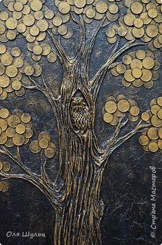 Всем привет)))  Выросло у меня еще одно денежное дерево. В этот раз покрупнее))  Размер 40х67 см фото 4
