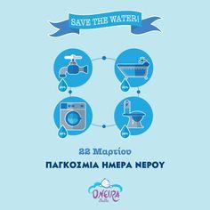 Το σώμα μας αποτελείται κατά ⅔ από νερό 💦 Το ποσοστό μιλάει από μόνο του για το πόσο σημαντικό είναι το νερό στη διατήρηση της καλής υγείας. Σήμερα τιμούμε το υπερπολύτιμο αυτό αγαθό! #oneirabebe #worldwaterday #worldwaterday2019 Celebration, Map, Water, Movies, Movie Posters, Gripe Water, Films, Location Map, Film Poster