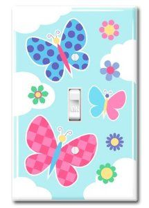 cute light switch covers for girls - Google Search