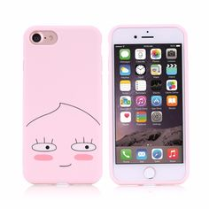 Cute Korean Peach Fashion TPU Case For iPhone 7/7Plus/6/6s/6plus/6sPlus Soft Back Cover Pink Housing Shell