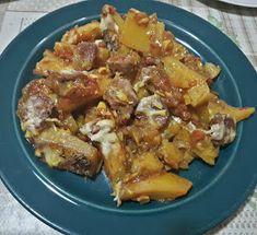 ΜΑΓΕΙΡΙΚΗ ΚΑΙ ΣΥΝΤΑΓΕΣ: Πατάτες στο φούρνο με χωριάτικο λουκάνικο !!!