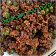Spicy Ground Turkey Skillet