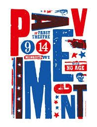 Image result for pavement poster