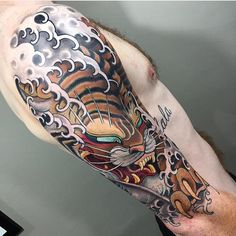 Japanese Tiger by Stu Pagdin of House of Daggers, South Australia - Finished yesterday!