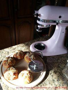 Laugenbrötchen mit der Küchenmaschine Artisan von KitchenAid