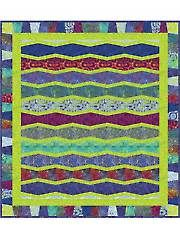 Inspiration:Tumblers Way Quilt Pattern sold at Annie's